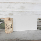 Wine Cork Place Card Holders - Single Vertical - CorkeyCreations.com