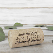 Save the Date Whole Corks - CorkeyCreations.com