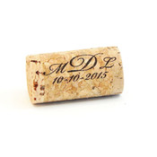 Monogram Whole Corks - Option 2 - CorkeyCreations.com