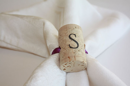 Wine Cork Napkin Rings - CorkeyCreations.com