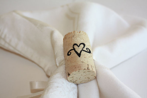 Wine Cork Napkin Rings - CorkeyCreations.com
