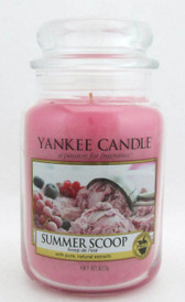 Yankee Candle Summer Scoop 623 g./ 22 oz. Large Jar. Brand New