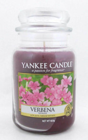 Yankee Candle Verbena 623 g/ 22 oz Large Jar Brand New