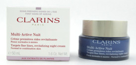 Clarins Multi Active Nuit Night Cream Normal Combination Skin 50 ml./1.6 oz. New