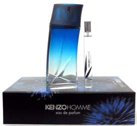 Kenzo Homme Eau de Parfum Spray 3.3 oz.Men's Set. New in Hard Box