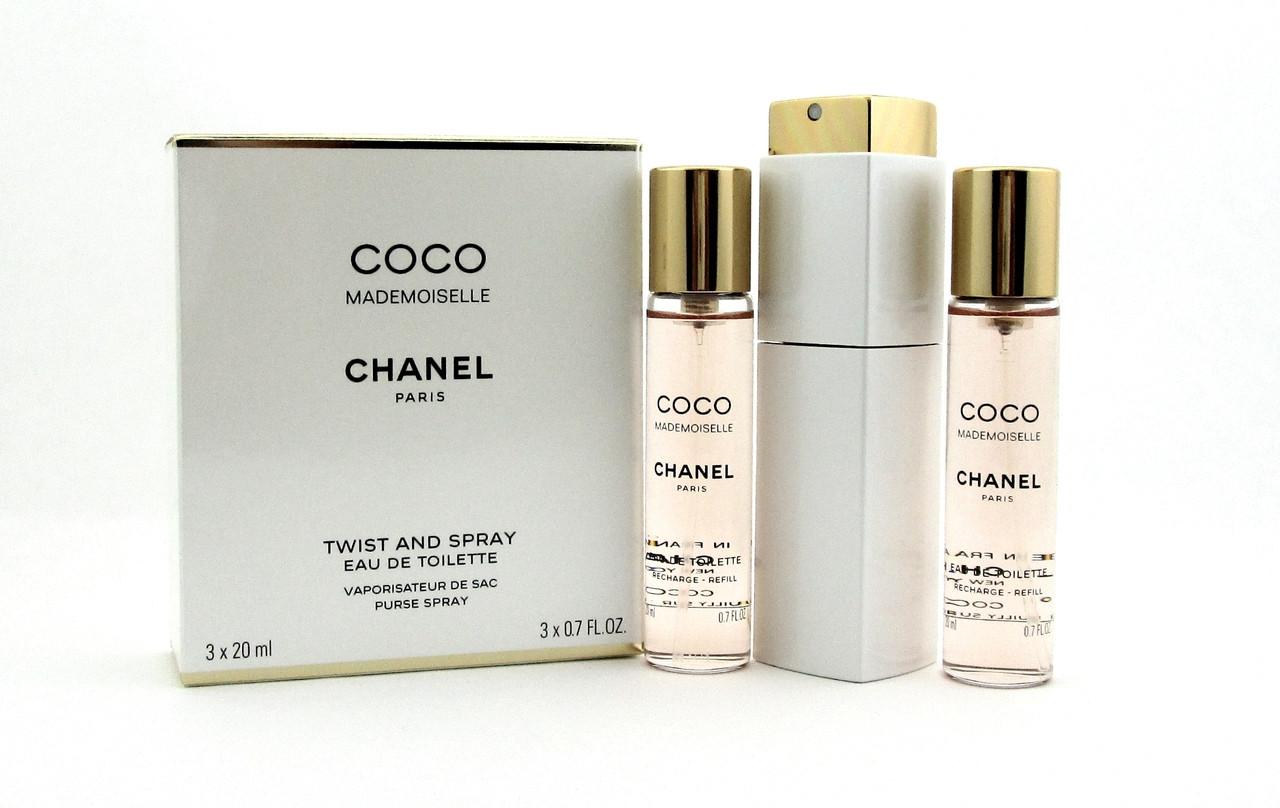 e784bb2e29af Coco Mademoiselle by Chanel Twist and Spray Eau de Toilette Purse ...
