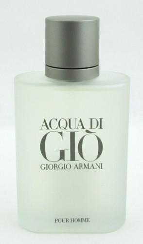Acqua di Gio Giorgio Armani EDT Spray Tester for Men 3.4 oz./100 ml.