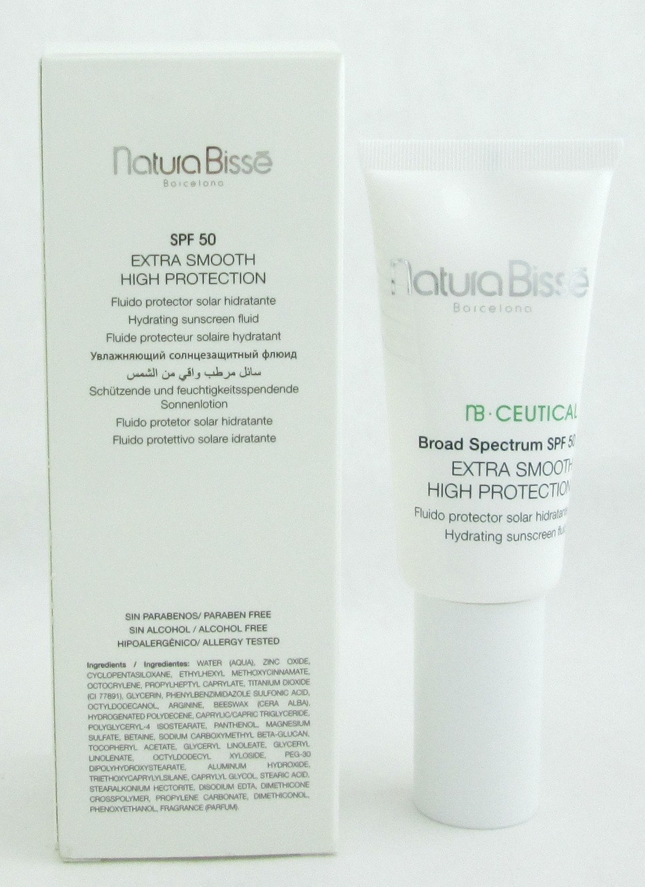 Natura Bisse NB Ceutical SPF 50 Extra Smooth High Protection 1 0 oz/ 30 ml  NIB