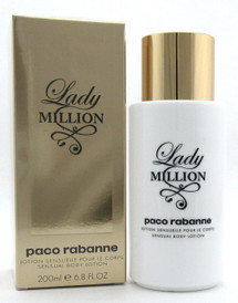 Lady Million by Paco Rabanne 6.8 oz. Sensual Body Lotion for Women. New Sealed Box