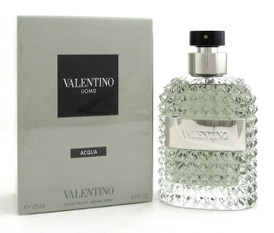 Valentino Uomo ACQUA Cologne 4.2oz./125ml. EDT Spray for Men. Brand New. Sealed.