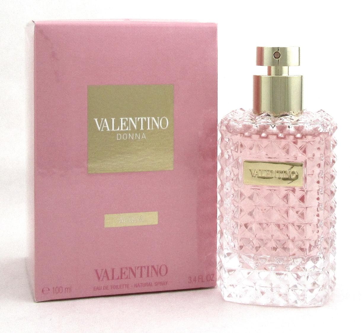 NewSealed Valentino WomenBrand Donna 4 Box 3 Spray OzEdt For Acqua Perfume EID9YWH2