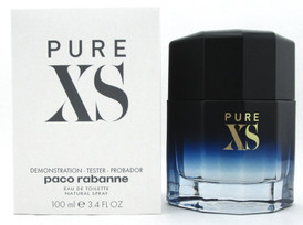 PURE XS by Paco Rabanne Cologne 3.4 oz. EDT Spray for Men. Brand New Tester.