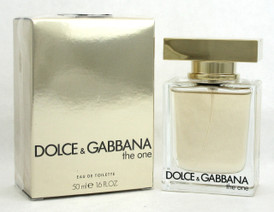 Dolce & Gabbana The One for Women 1.6 oz./ 50 ml. EDT Spray. New in Sealed Box.