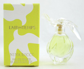 L'Air Du Temps by Nina Ricci Eau De Toilette for Women 0.14 oz./ 4 ml. Mini