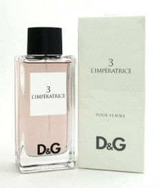 3 L'imperatrice Pour Femme Dolce & Gabbana Perfume 3.3 oz. Eau de Toilette Spray. New in Box.
