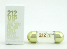 212 VIP Are You On The List? NYC Eau De Parfum Splash 5 ml./ 0.17 oz. Mini