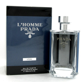 L'Homme Prada L'EAU by Prada 3.4 oz. EDT Spray for Men.
