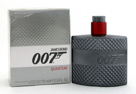 007 Quantum by James Bond for Men 2.5oz./ 75ml. EDT Spray.New Sealed Damaged Box