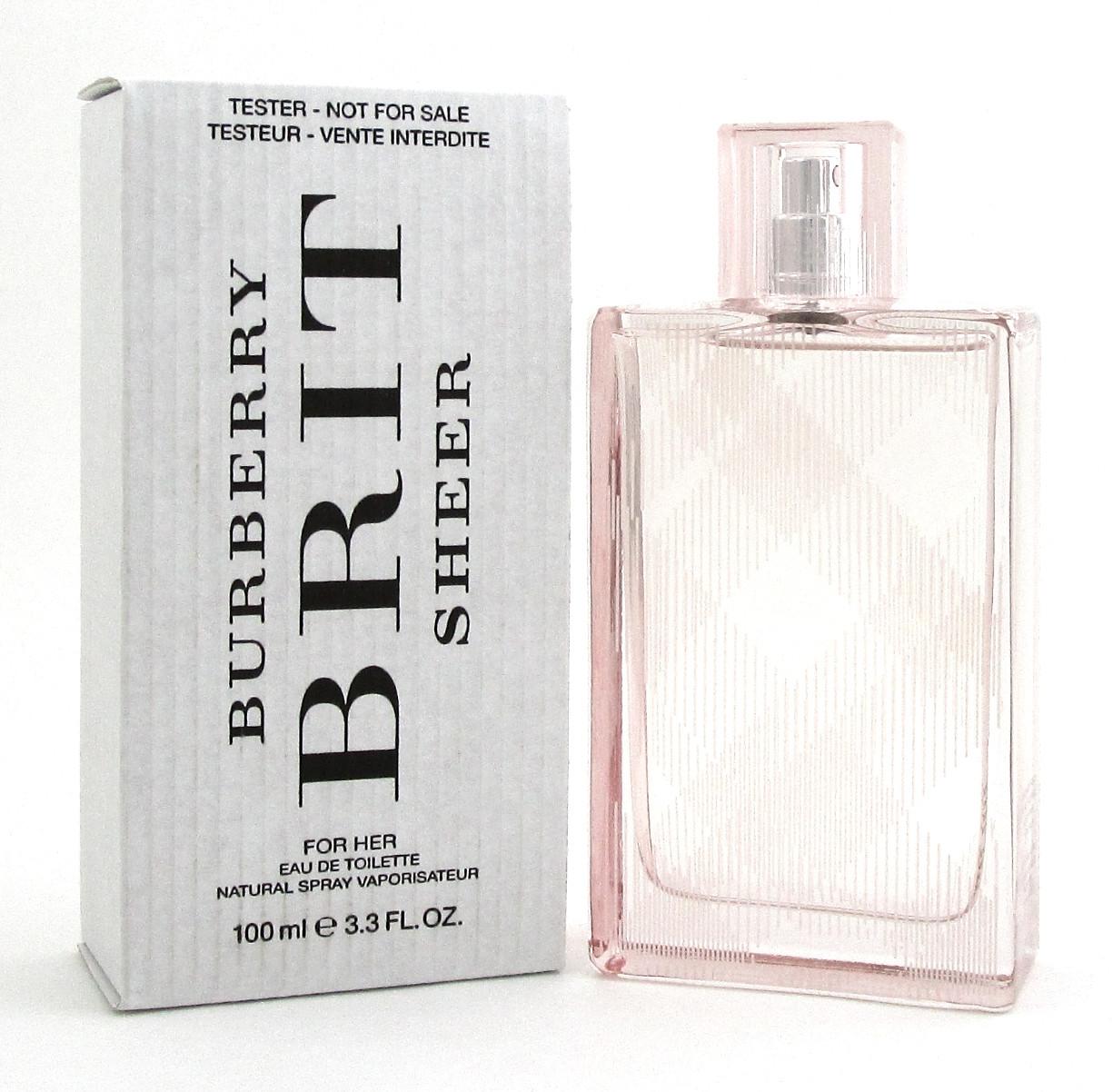 6e5345cb4b BURBERRY BRIT SHEER by Burberry 3.3 oz. EDT Spray for Women. New ...