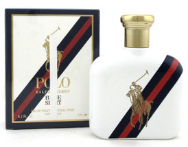 Polo Blue Sport by Ralph Lauren 4.2 oz. EDT Spray for Men. NEW Damaged Box.