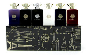 Amouage Cologne Miniature Modern Collection Man.Set Contains 6 Mini EDP Splashes