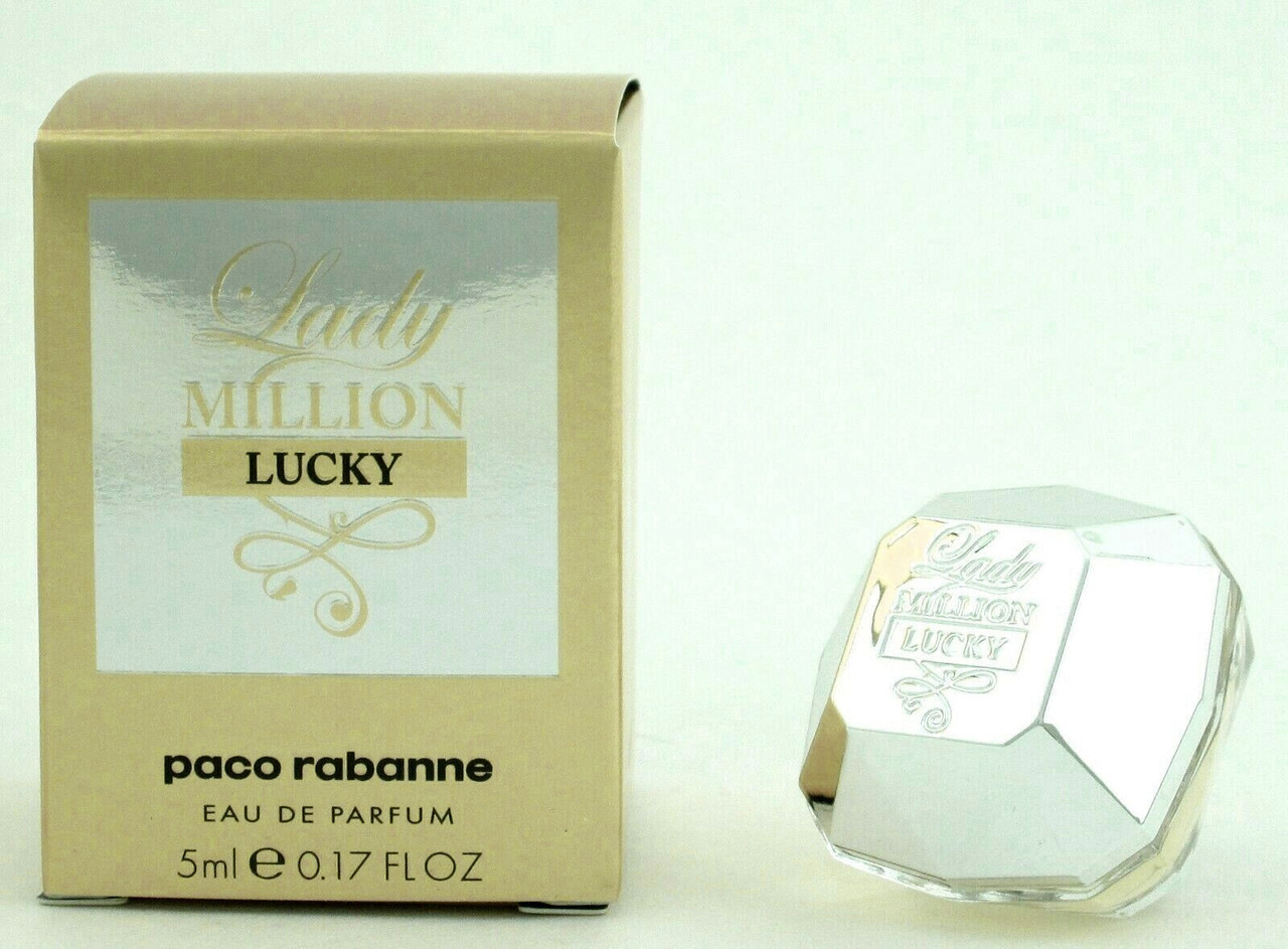 Lady Million Lucky Perfume By Paco Rabanne Eau De Parfum Splash For