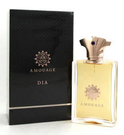 Dia Cologne by Amouage, 3.4 oz./100 ml. EDP Spray for Men. New in Box.