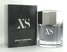 XS Excess Cologne (2018) by Paco Rabanne 3.4 oz. EDT Spray for Men. New in Box.