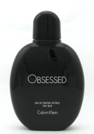 Obsessed Intense Calvin Klein Eau De Parfum Intense Spray for Men 4.0 oz./ 125 ml.  New NO BOX