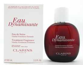Clarins Eau Dynamisante Treatment Fragrance Spray & Splash 3.3 oz. New Tester