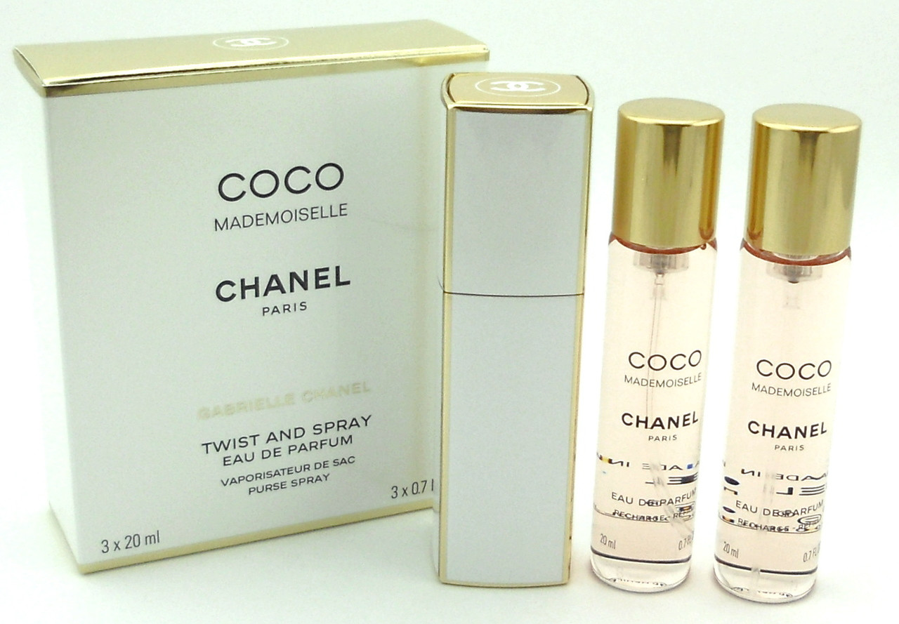 677557076144 Coco Mademoiselle by Chanel Twist and Spray Eau de Parfum Purse ...