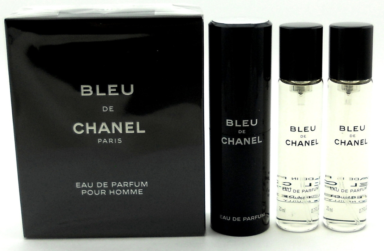 5b8037de Chanel Bleu de Chanel Cologne 20ml Eau De Parfum Travel Spr+2  Refills.Sealed Box