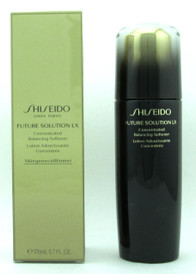 Shiseido Future Solution LX Concentrated Balancing Softener 170 ml./ 5.7 oz. NIB New Packaging