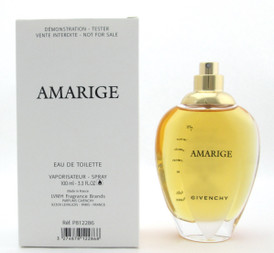 Amarige by Givenchy Eau De Toilette Spray for Women 3.3 oz. New Tester NO TOP