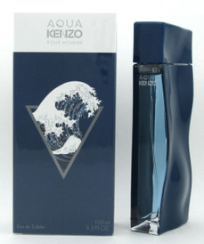 Aqua Kenzo Pour Homme by Kenzo Eau De Toilette Spray for Men 100 ml./ 3.3 oz. NIB