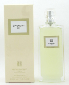 Givenchy III Mythical by Givenchy Eau De Toilette Spray for Women 100 ml./ 3.3 oz. NIB