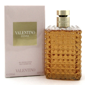 Valentino Donna by Valentino Silky Shower Gel 6.8oz./200ml. for Women.New in Box