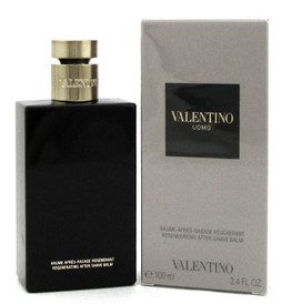 Valentino Uomo Regenerating After Shave Balm by Valentino 3.4oz/100ml New In Box