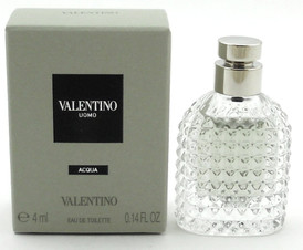 Valentino Uomo Acqua Cologne for Men 0.14 oz Eau de Toilette in MINI Bottle. NIB