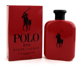Polo Red by Ralph Lauren Cologne 4.2 oz. EDT Spray for Men. New. Damaged Box.