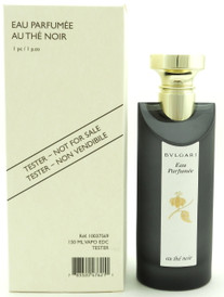 Bvlgari Eau Parfumee Au The Noir Eau De Cologne Spray 5.0 oz Tester with Cap