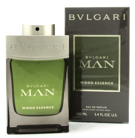 Bvlgari Man Wood Essence Cologne 3.4 oz Eau de Parfum Spray. New Sealed Box.