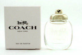 Coach New York Perfume by Coach Mini 0.15 oz.EDP Splash. NIB