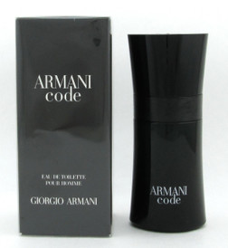 Armani Code by Giorgio Armani Eau De Toilette Spray for Men 50 ml./ 1.7 oz. NIB