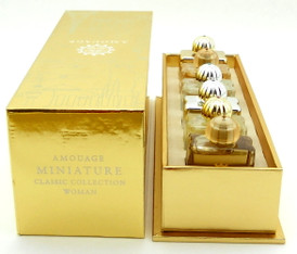 Amouage Miniatures Classic Collection Woman EDP 6 x 7.5 ml. New in Sealed Box