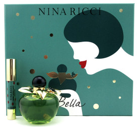Bella by Nina Ricci Set for Women: 2.7 oz.EDT Spray+2.5 g.Red Lipstick. New Set.