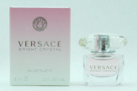 Versace Bright Crystal by Versace Eau De Toilette MINI Splash for Women 5 ml./ 0.17 oz. NIB