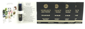 Versace Dylan Blue Pour Femme Eau de Parfum EDP Vial Spray Lot of 5. New