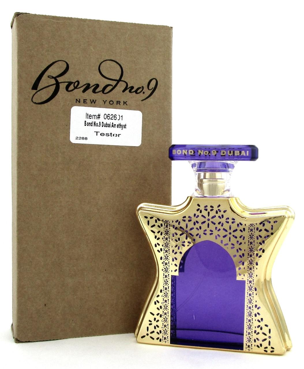Dubai Tester Perfume Review: Dubai Amethyst Perfume By Bond No 9 EDP Spray 3.3 Oz.Tester With Cap. Never Used