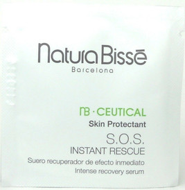 Natura Bisse NB Ceutical SOS Instant Rescue Serum 2 ml Sample.Lot of 10 pcs.